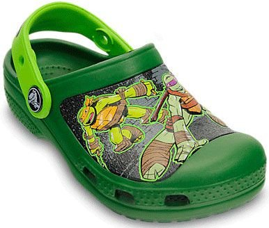 CALÇADO CROCS MUTANT NINJA TURTLES 15607 - SEAWEED/VOLTGREEN