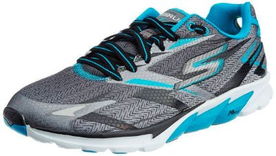 MENS SKECHERS GO RUN 4 53995 - BLACK/BLUE