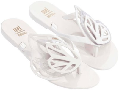 MELISSA NEW FLY 31898MP - BRANCO COCO