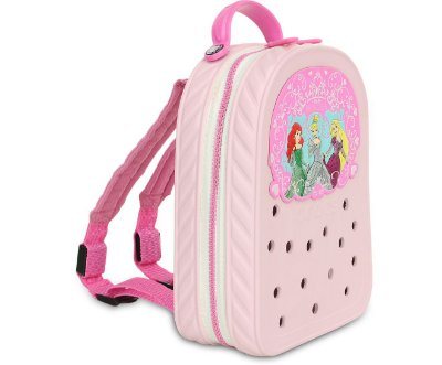 MOCHILA CROCS LIGHTS DISNEY PRINCESS 35171 - BUBBLEGUM/PARTY PINK