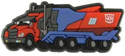 JIBBITZ TRANSFORMERS - OPTIMUS PRIME TRUCK - UNICA