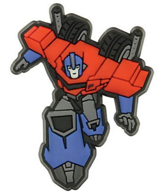 JIBBITZ TRANSFORMERS - OPTIMUS PRIME TRANSFORMERS - UNICA