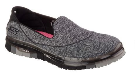 WOMENS SKECHERS GO FLEX 14010 - BLACK