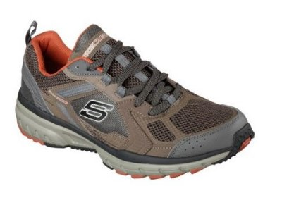 SKECHERS GEO TRECH PRO FORCE 51561 - BROWN/ORANGE