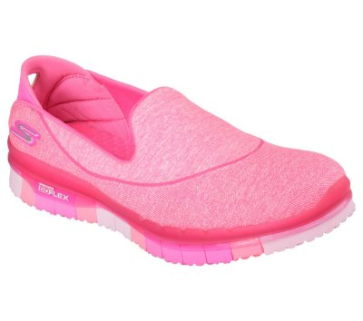 WOMENS SKECHERS GO FLEX 14010 - HOT PINK