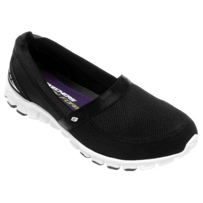 WOMENS EZ FLEX - TAKE IT EASY 22258 - BLACK/WHITE