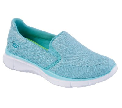 WOMENS SKECHERS EQUALIZER SAY SOMETHING 12182 - LIGHT BLUE