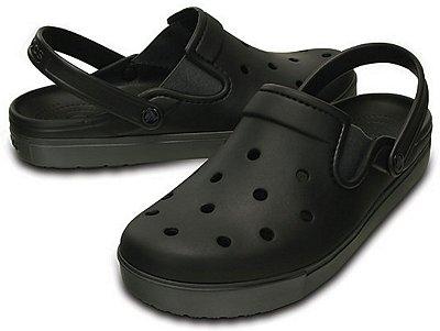 Sandália Crocs Citilane Clog - Black/Graphite - Masculino / Feminino