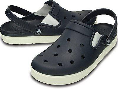 Sandália Crocs Citilane Clog - Navy/White - Masculino / Feminino