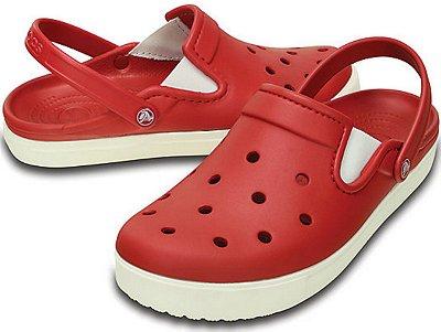 Sandália Crocs Citilane Clog - Pepper/White - Masculino / Feminino