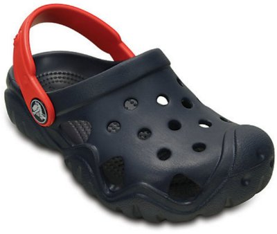 SWIFTWATER CLOG KIDS 202607 - NAVY/FLAME