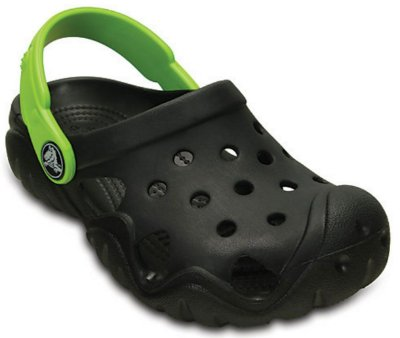 SWIFTWATER CLOG KIDS 202607 - BLACK/VOLT GREEN