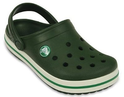 CALÇADO CROCBAND KIDS - 10998 - FOREST GREEN