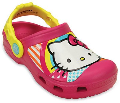 CALÇADO HELLO KITTY RAINBOW CLOG 203901 - CANDY PINK