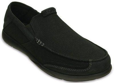 CALÇADO WALU LUXE CANVAS MEN'S 203473 - BLACK/BLACK