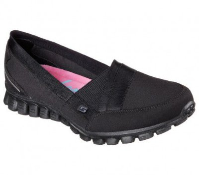 WOMENS SKECHERS EZ FLEX 2 FASCINATION 22827 - BLACK
