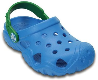 SWIFTWATER CLOG KIDS 202607 - OCEAN/KELLY GREEN