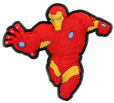 JIBBITZ IRON MAN 2416 - UNICA