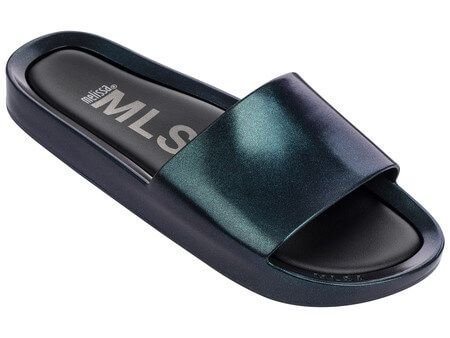 MELISSA BEACH SLIDE SHINE 32291 - FURTACOR AZUL
