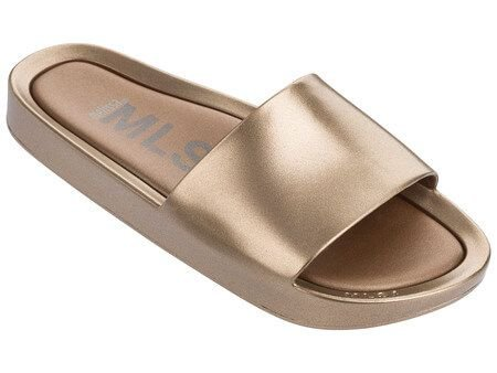 MELISSA BEACH SLIDE SHINE 32291 - OURO METALIZADO