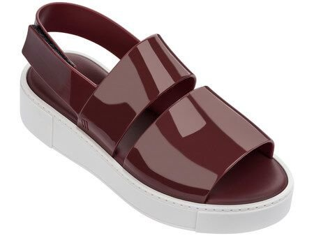 MELISSA SOHO 32304MG - BORDO/BRANCO