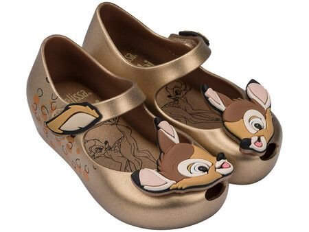 MINI MELISSA ULTRAGIRL + BAMBI 32367MG - OURO METALIZADO