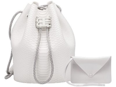 MELISSA BAG +BAJA EAST 34131 - BRANCO COCO