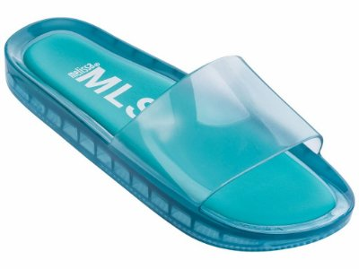MELISSA BEACH SLIDE  - 31754 - AZUL CANDY