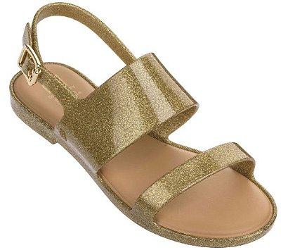Melissa Mel Classy Infantil - Dourada Glitter
