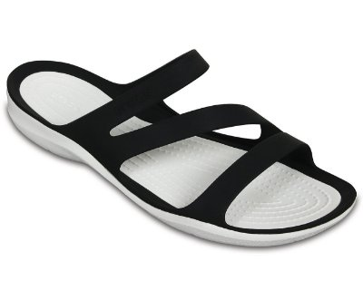 CALÇADO SWIFTWATER SANDALS WOMEN - 203998 - BLACK/WHITE