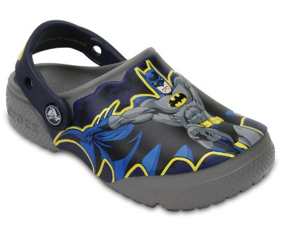CALÇADO CROCS FUN LAB BATMAN - 204452 - SMOKE
