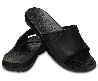 Sandália Crocs Classic Slide Black - Masculino / Feminino