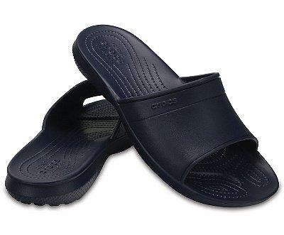 Sandália Crocs Classic Slide Navy - Masculino / Feminino