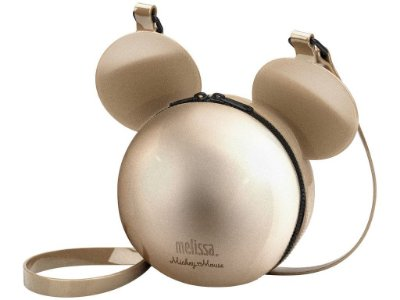 MELISSA BALL BAG + DISNEY 34132 - DOURADO SAND METALIZADO