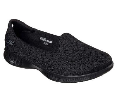 Sapatilha Skechers Go Step Lite Origin - Black - Feminino
