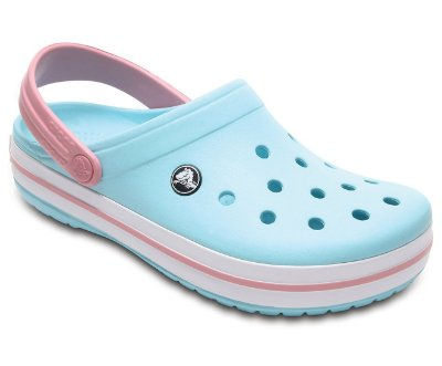 CALÇADO CROCBAND 11016 - ICE BLUE/WHITE