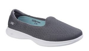 Sapatilha Skechers Go Step Lite Origin - Charcoal - Feminino