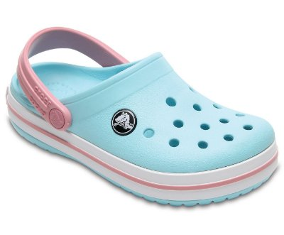 CALÇADO CROCBAND KIDS - 10998 - ICE BLUE/WHITE