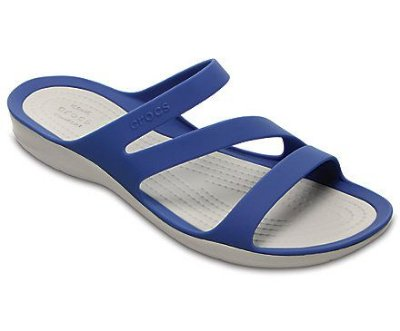 CALÇADO SWIFTWATER SANDALS WOMEN - 203998 - BLUE JEAN / PEARL WHITE