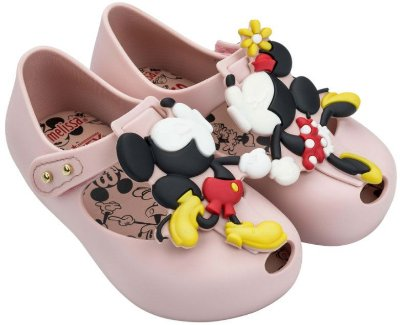 Mini Melissa Ultragirl + Disney Twins III - Rosa Cameo