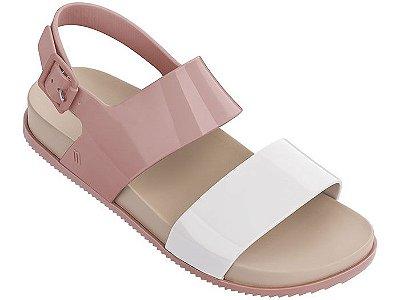 Melissa Cosmic Sandal III - Bege/Branco/Rosa