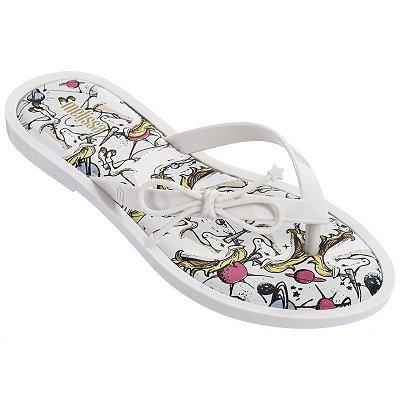 Melissa Flip Flop Unicorn - Branco Coco