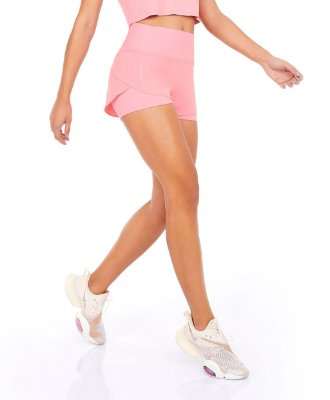 Shorts Alto Giro Bahamas Rosa Icing