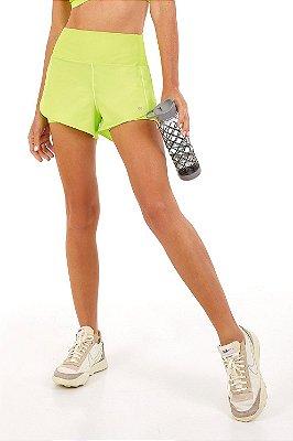 Shorts Alto Giro Bahamas Verde Acid Lime