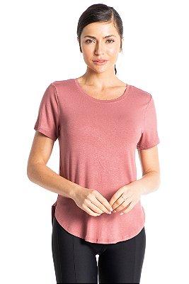 Camiseta Vivame Essential Rose