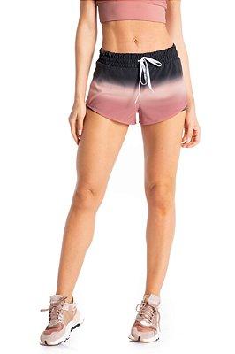 Shorts Vivame Studio Degrade Rosa