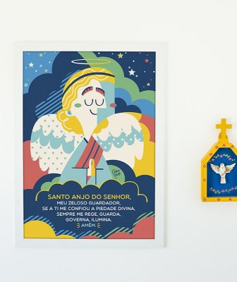 Quadro - Santo Anjo
