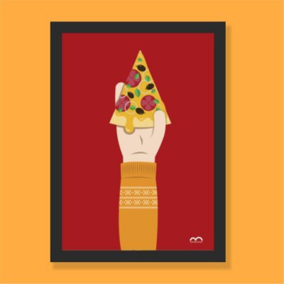Quadro - Pizza