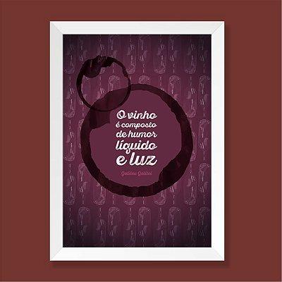 Quadro - Vinho