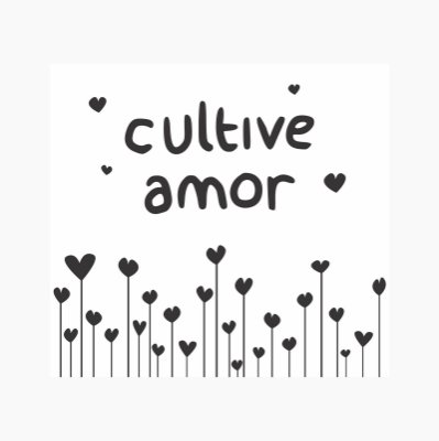 Quadro Luminoso - Arte Individual Cultive Amor